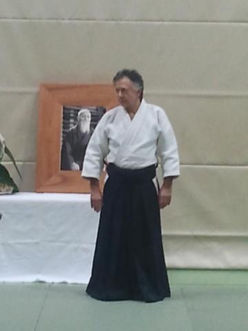 Gérard Blaize, 7. Dan Aikikai Zürich 2012