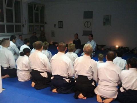 Gruppenbild Aikido Qigong Lyss
