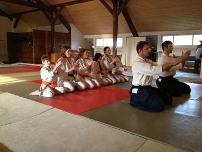 das letzte Mal Urs & Urs Aikido im Hikari no michi Aikido Dojo Schüpfen