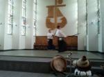 Arbeit mit dem Schwert im Aikido: Urs Keller