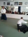 Urs Keller Aikido-Vorführung für Zürcher-Schulklasse