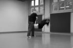 Peter Shapiro Sensei mit Uke: Urs Keller Aikido
