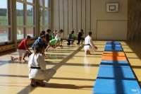 shiko: Knie-Laufen wie die Samurai