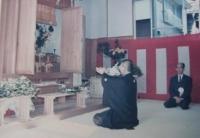 Hikitsuchi Sensei und  K. Ueshiba