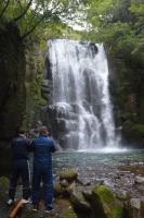 Norito am Wasserfall