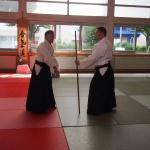 Gérard Blaize Sensei & Urs Keller Aikido