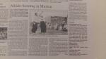 Urs Keller Aikido Murten Zeitungsartikel 2015